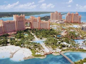 Atlantis, Paradise Island ***** - BahamĂĄk