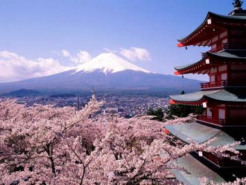 Japán - Cseresznyevirágzás a Felkelő Nap országában