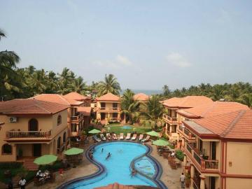 India kĂśrĂşt + Goa tengerparti ĂźdĂźlĂŠs a Resort Terra Paraiso***-ban