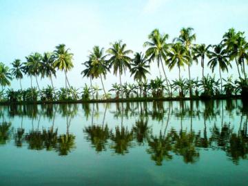 DĂŠl-India kĂśrutazĂĄs  - Kerala lagĂşnĂĄi